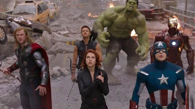 #2) The Avengers - (2012 - dir. Joss Whedon)