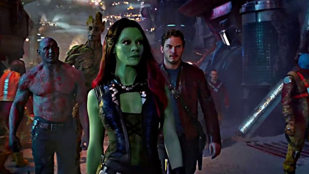 #3) Guardians of the Galaxy - (2014 - dir. James Gunn)