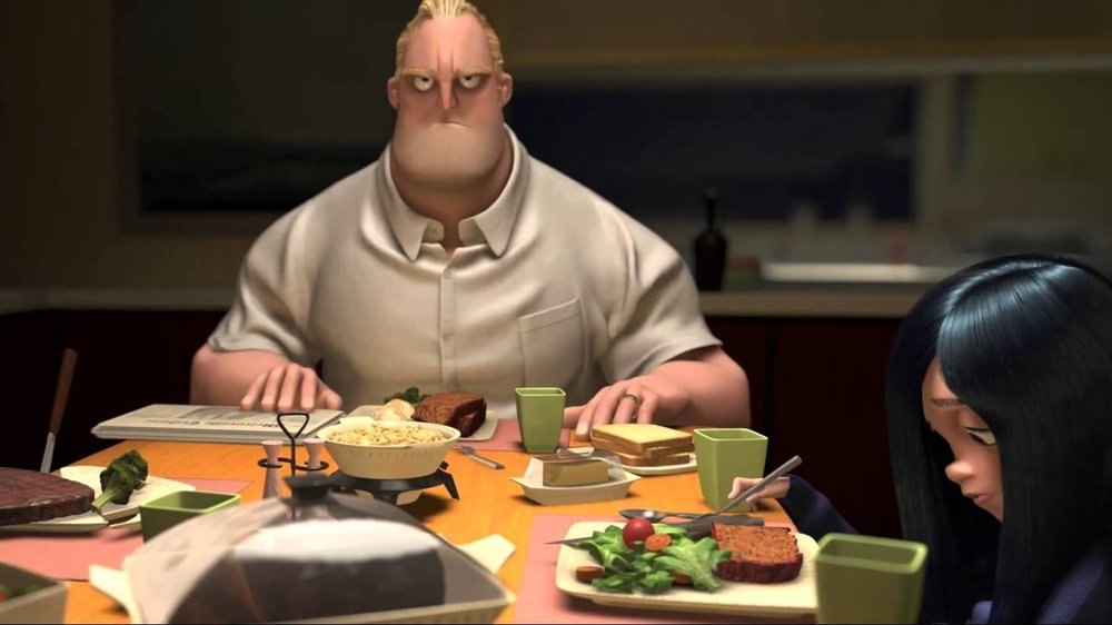 #5) The Incredibles - (2004 - dir. Brad Bird)