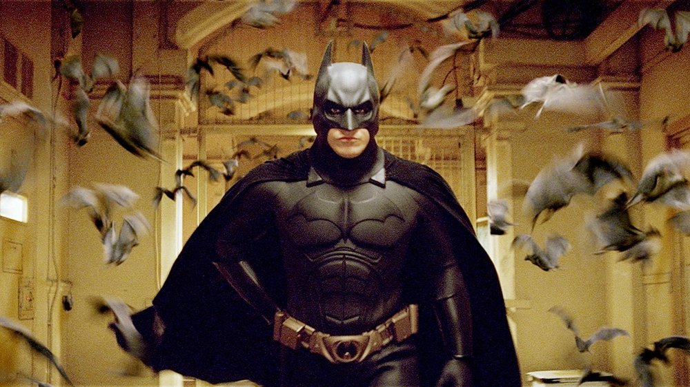 #10) Batman Begins - (2005 - dir. Christopher Nolan)