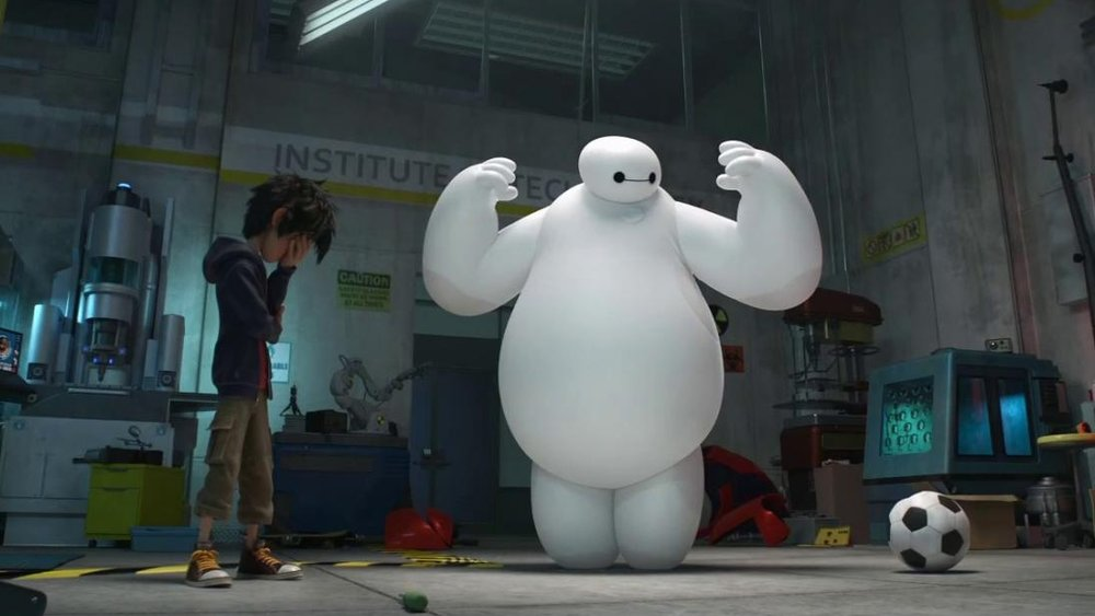 #20) Big Hero 6 - (2014 - dir. Chris Williams & Don Hall)