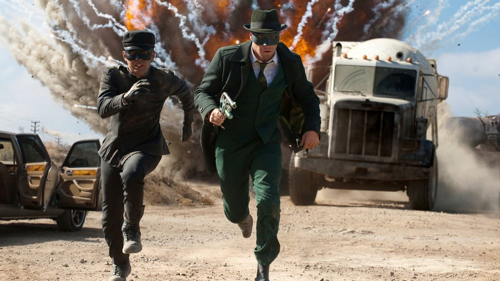 #94) The Green Hornet - (2011 - dir. Michel Gondry)