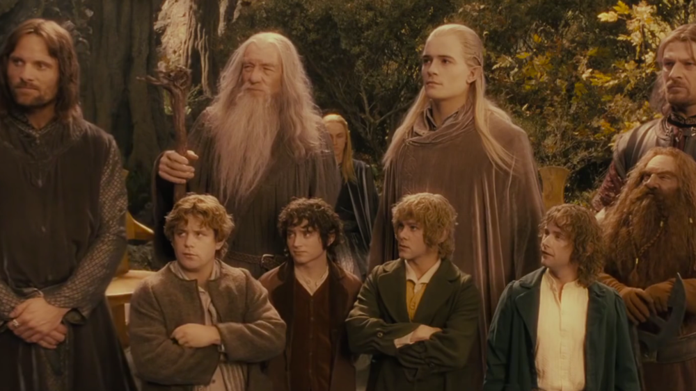 #2) The Lord of the Rings: The Fellowship of the Ring - (2001 - dir. Peter Jackson)