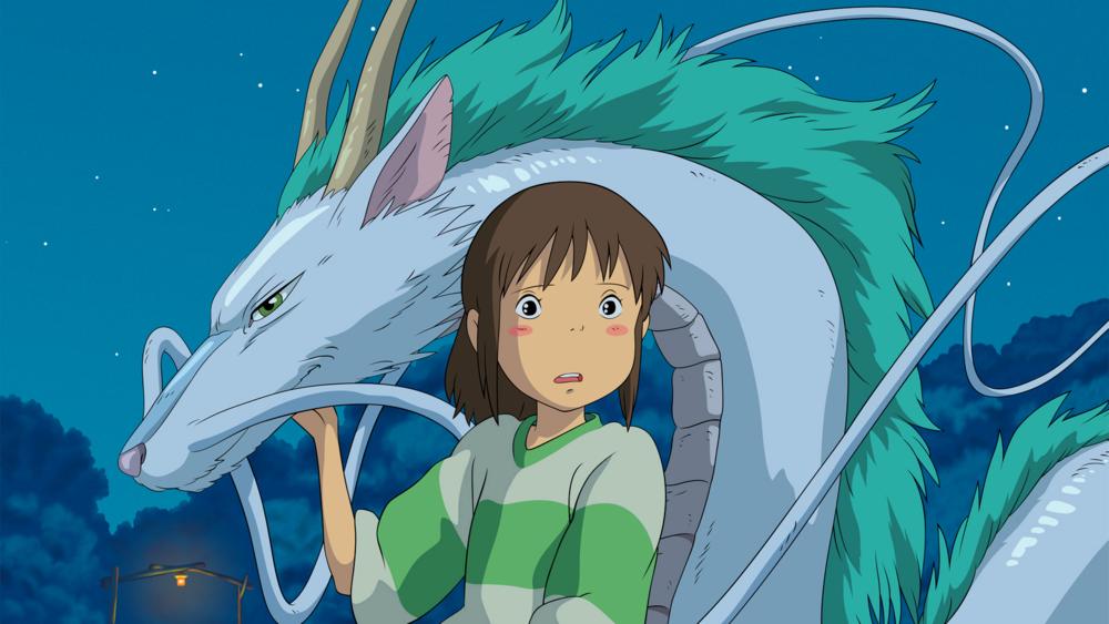#6) Spirited Away - (2001 - dir.Hayao Miyazaki)