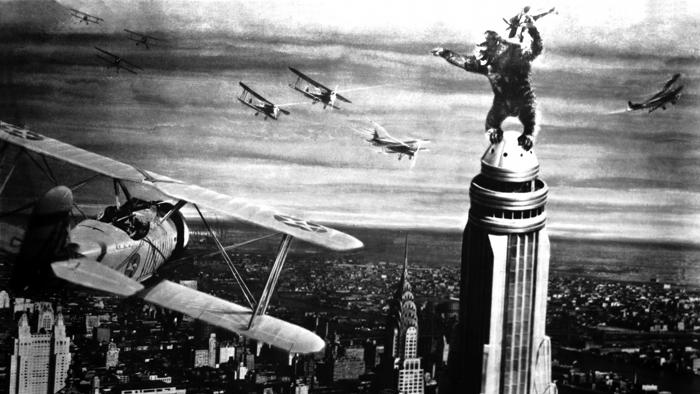 #12) King Kong - (1933 - dir.Merian C. Cooper, Ernest B. Schoedsack)