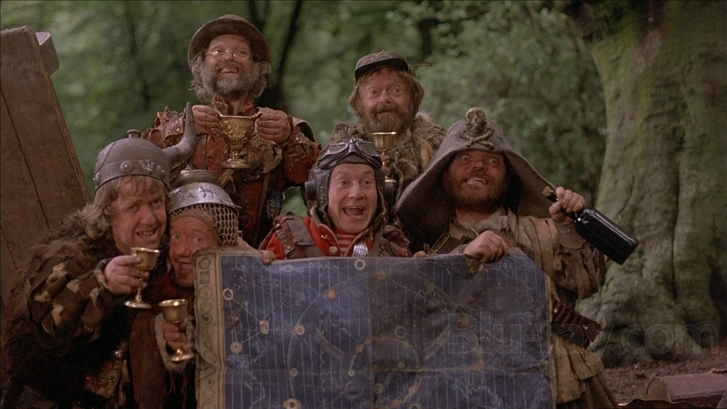 #27) Time Bandits - (1981 - dir. Terry Gilliam)