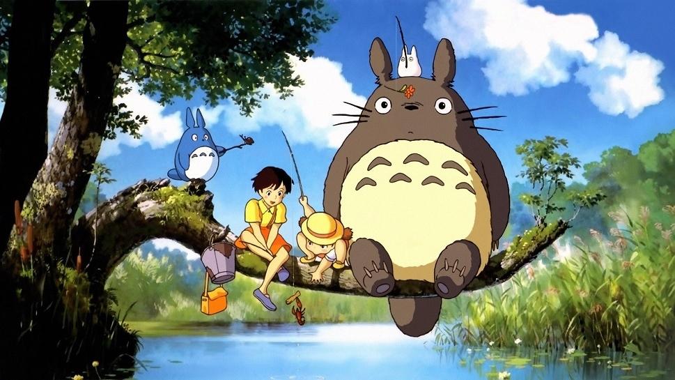 #32) My Neighbor Totoro - (1988 - dir. Hayao Miyazaki)