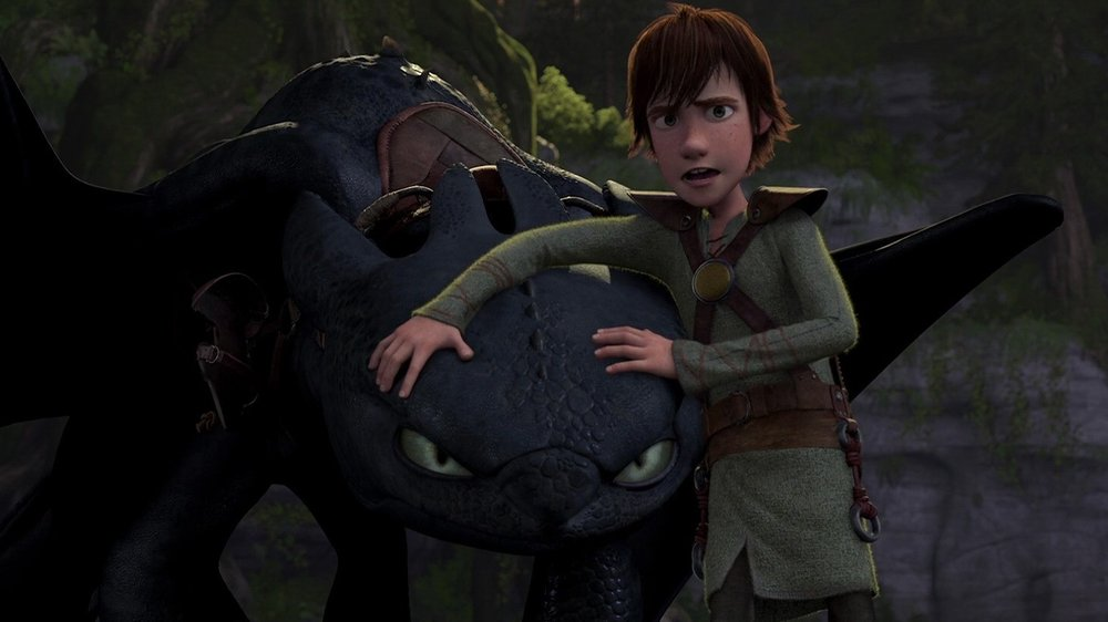 #35) How to Train Your Dragon - (2010 - dir. Chris Sanders, Dean Debloid)