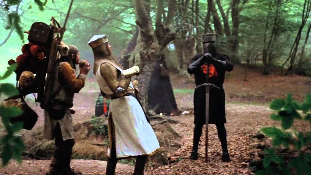 #36) Monty Python and the Holy Grail - (1975 - dir. Terry Gilliam)