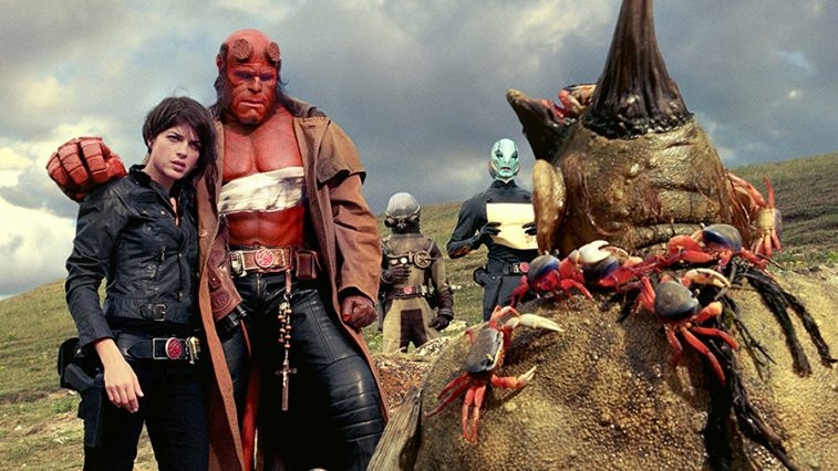 #39) Hellboy II: The Golden Army - (2008 - dir. Guillermo del Toro)