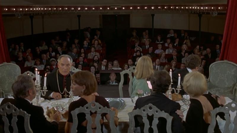 #55) The Discreet Charm of the Bourgeoisie - (1972 - dir. Luis Buñuel)