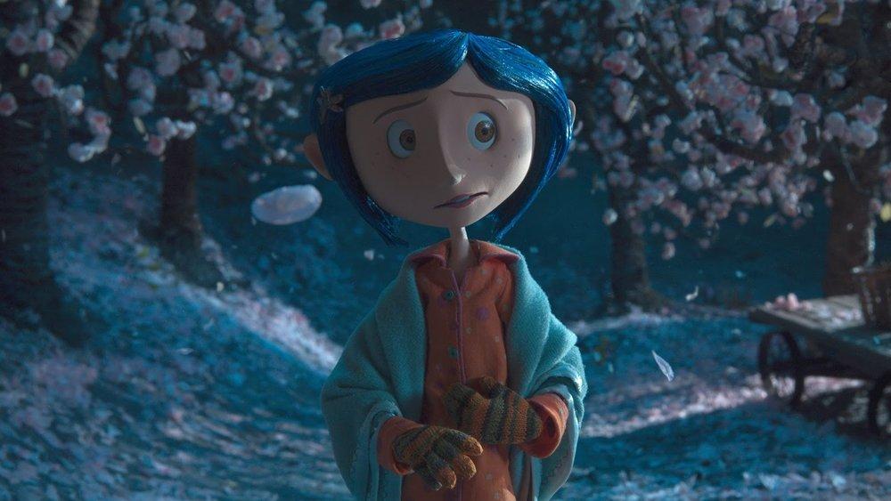#56) Coraline - (2009 - dir. Henry Selick)