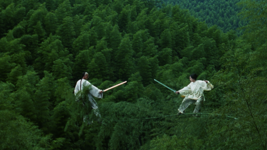 #59) Crouching Tiger, Hidden Dragon - (2000 - dir. Ang Lee)