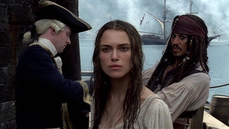 #82) Pirates of the Caribbean: The Curse of the Black Pearl - (2003 - dir. Gore Verbinski)