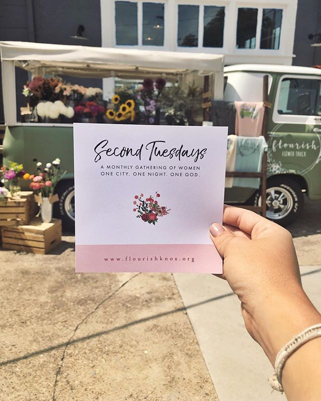 We are so excited to join with @flourishknox tonight! They are celebrating their one year and we love that we get to be a part of it! . . It's a sweet reminder of why the name Flourish was chosen for this little business. It's about thriving, growth, health, community, beauty. The list goes on and on, but it's really about being a place where you can come to love yourself and others well. It's about both celebrating and mourning with people. It's about choosing to flourish no matter your circumstances. I love that so many of you have come to us for that exact reason, and my dream is that together we can continue being a glimpse of hope here in Knoxville.
