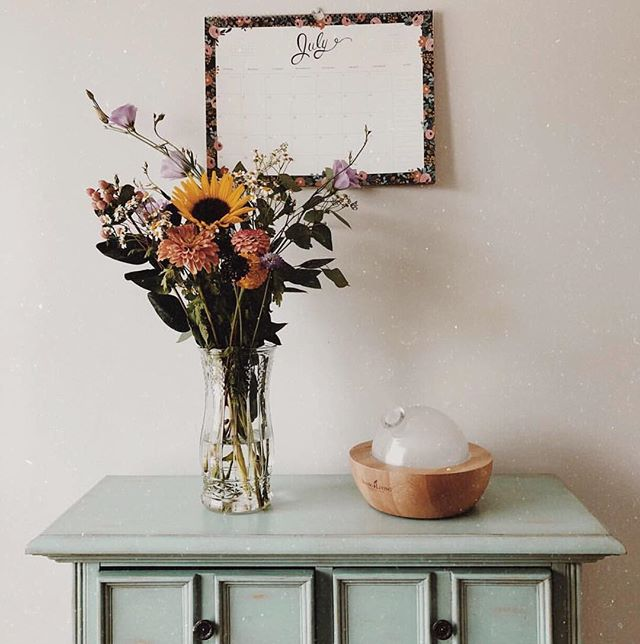 Happy Sunday friends 💕🌻 . . Did you know having fresh flowers in your home has a crazy amount of health benefits? . . 📷 | @findingedenessentials