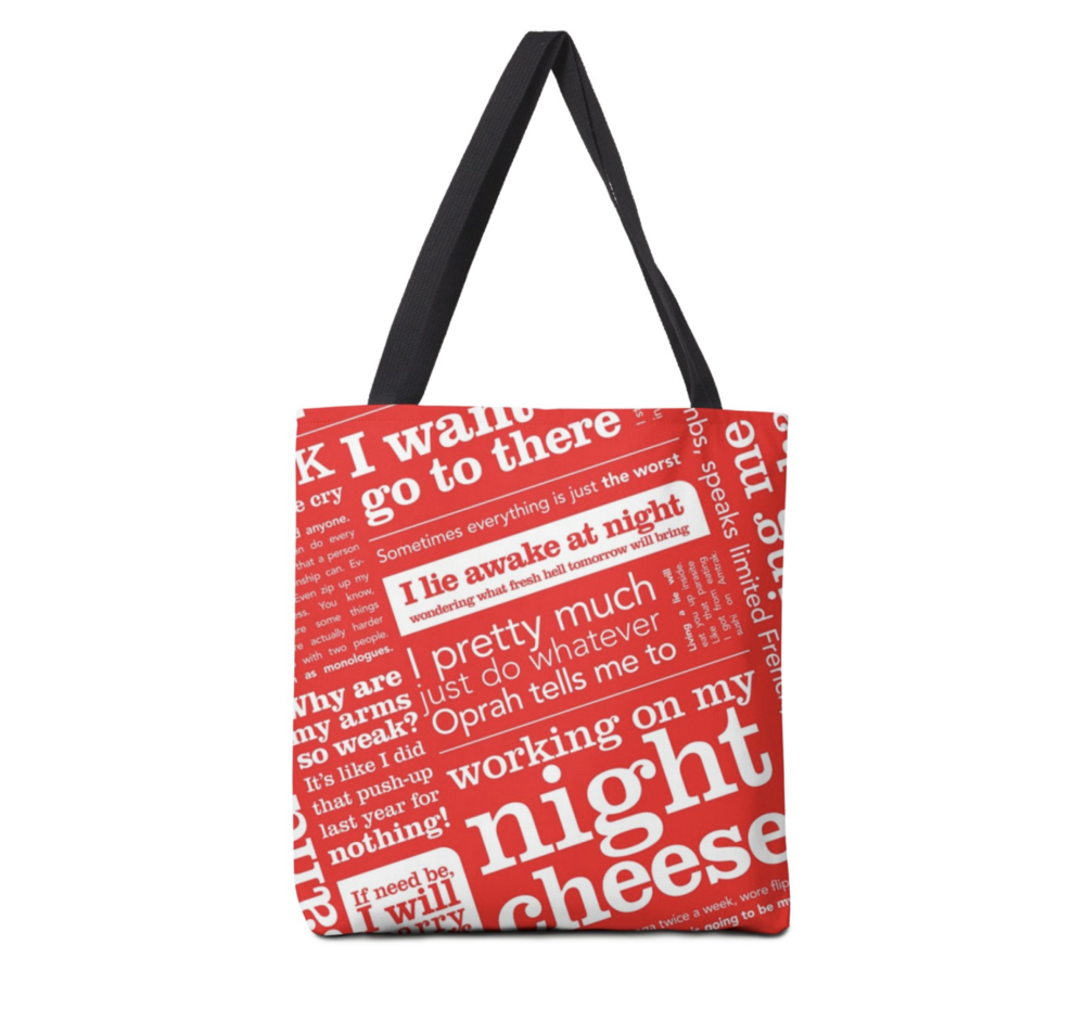 liz lemon tote - athletican't