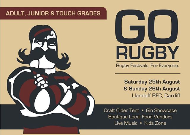 Tickets are live - The rugby festival for everyone!  With GO Rugby there is no limit to who can play. Not age. Not gender. Not physical ability. Not culture. Not orientation. If you can get on the field you're in the team!  Rugby, Cider, Food, Music and Gin:  Welcome to the party!  #gorugby