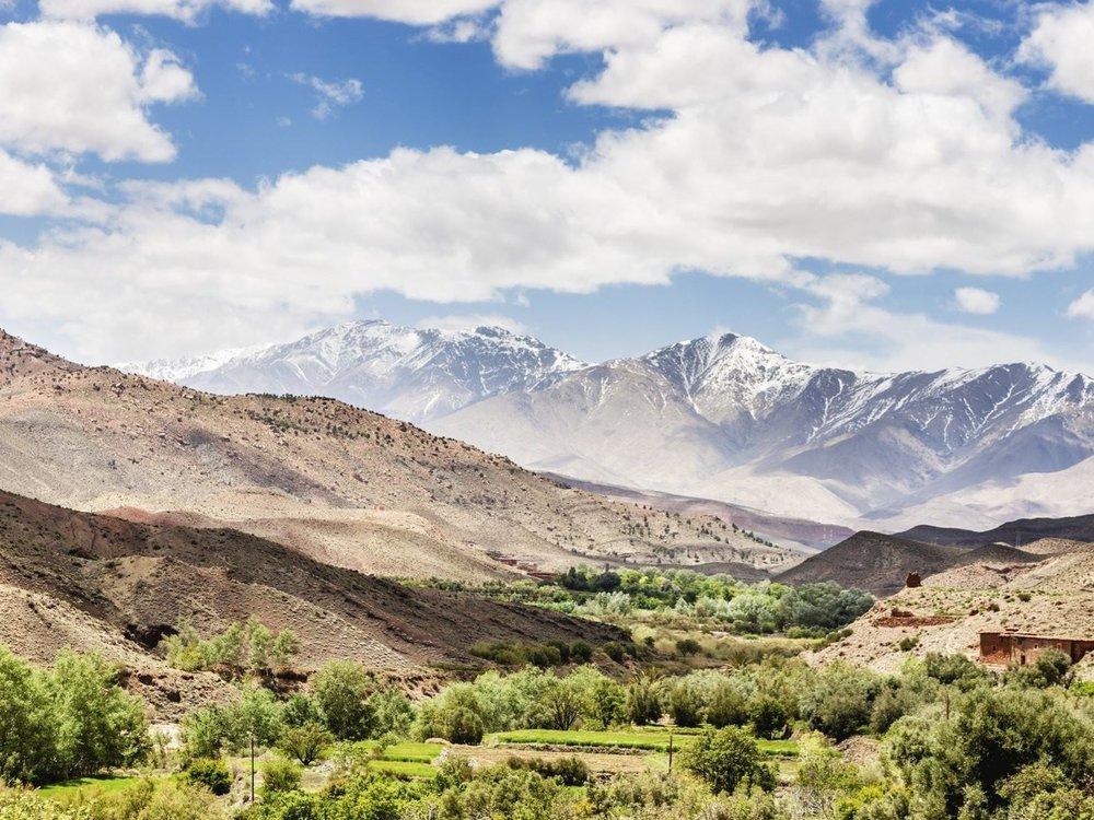 September 10-15    Louise de menthon    Atlas Mountains - revive & replenish