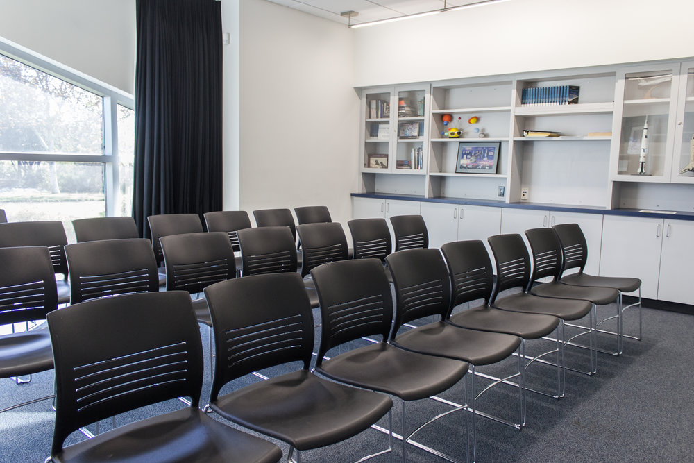 Community Room - audience seating
