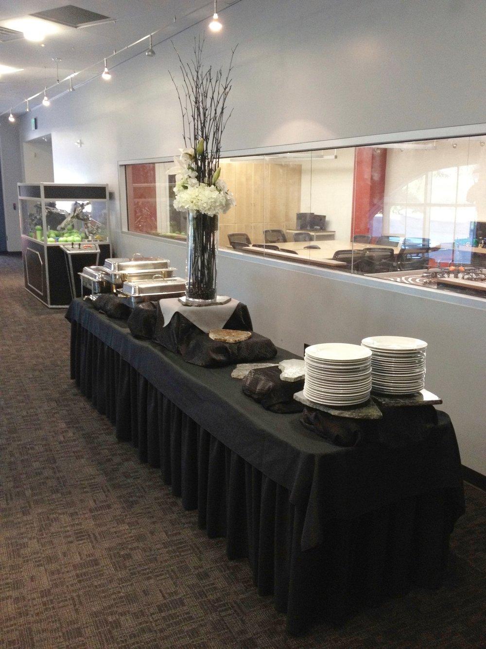 1st Floor - buffet line