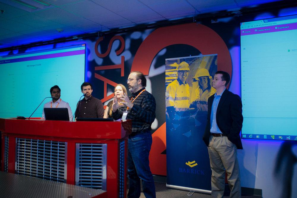 hackathon - Congratulations to team IntelliMine,winners of the inaugural BattleBorn Hackathon