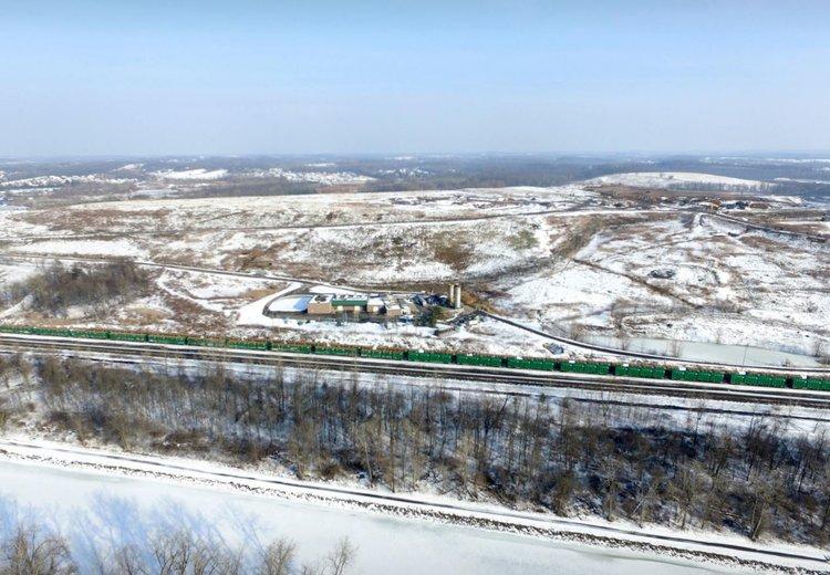 NYC Trash rail cars pile up at High Acres facility