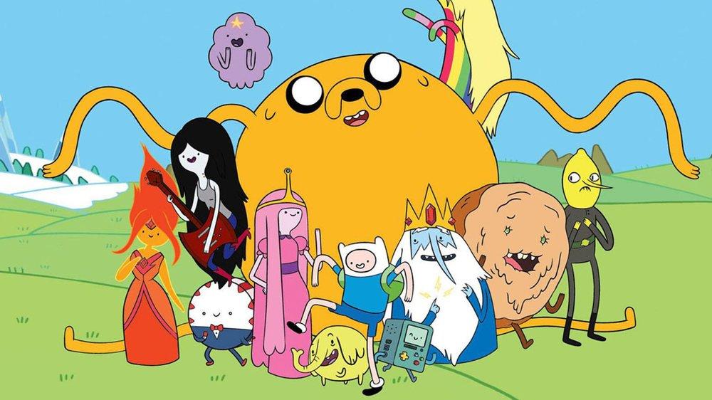 Adventure Time Cast Shot