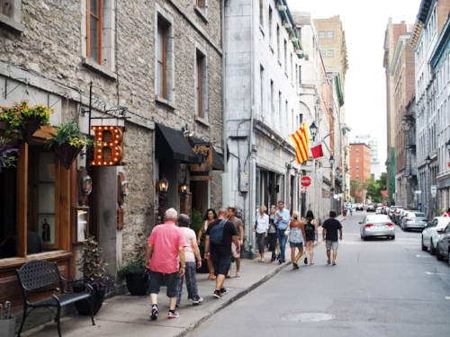 Old world charm in Old Montreal. Image Credit:  To Europe and Beyond