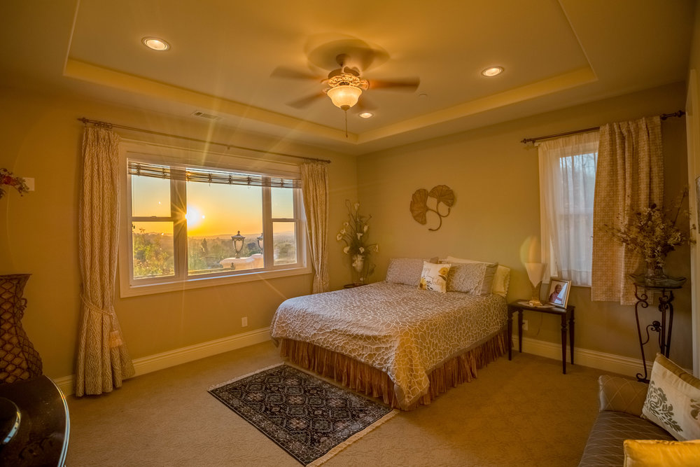 Real Estate Photography of Bedroom