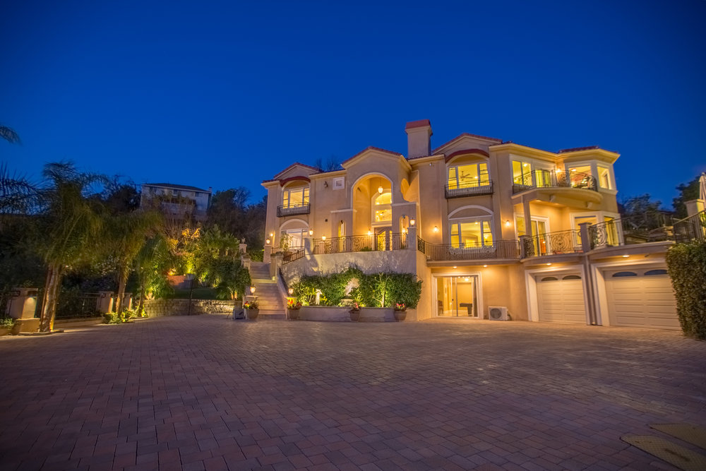 Real Estate Photography at Night