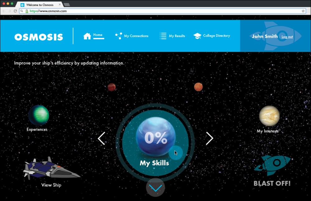 My Skills Page