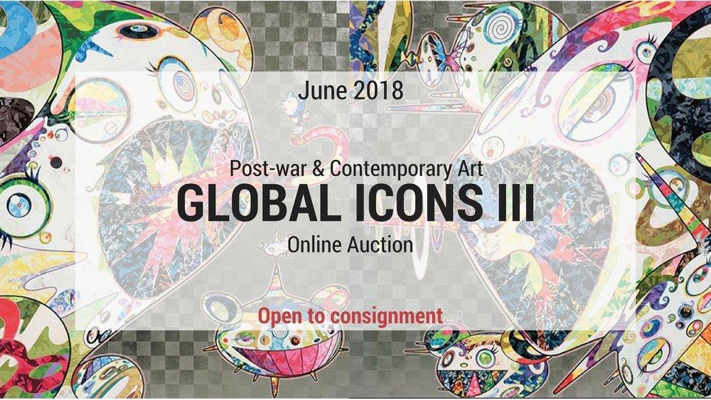 """2018年6月30 號 :""""GLOBAL ICONS"""