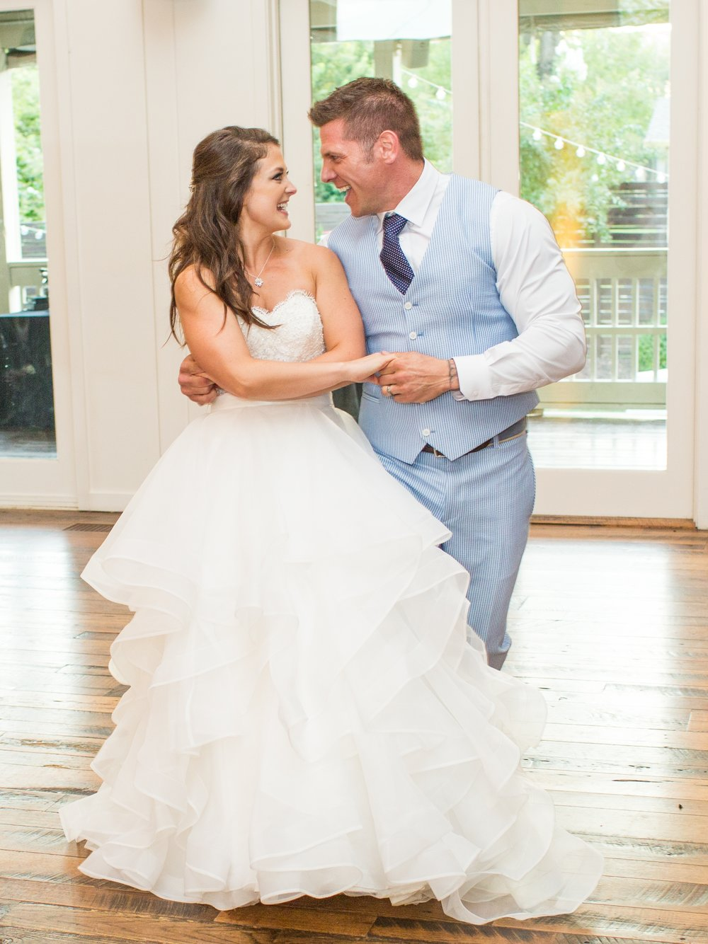 Photo by    Matt Andrews Photography    featuring Duet's students Megan and Donnie at their wedding.