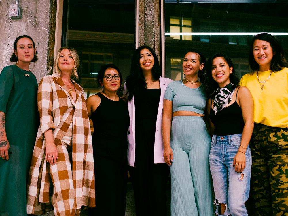 Photography by     Lindsey Shea         featuring     Meryl Pataky    ,     Aleksandra Zee    ,     Claudia Allwood    ,     Yumna Bahgat     of     VSCO    ,     Maryam Hasnaa    ,     Bianca Sotelo    , and     Ericka Chan