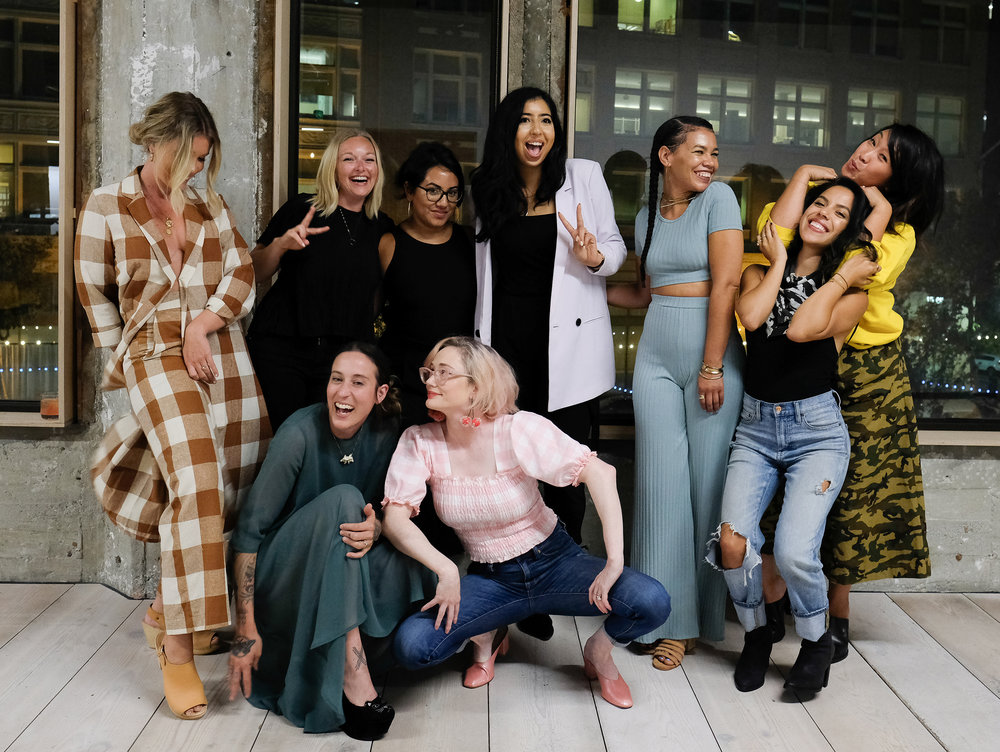 Photography by         Bessie Lacap         featuring     Aleksandra Zee    ,         Meryl Pataky    ,     Danielle Moore    ,     Alexandra Bigley    ,     Claudia Allwood    ,     Yumna Bahgat     of     VSCO    ,     Maryam Hasnaa    ,     Bianca Sotelo     and     Ericka Chan