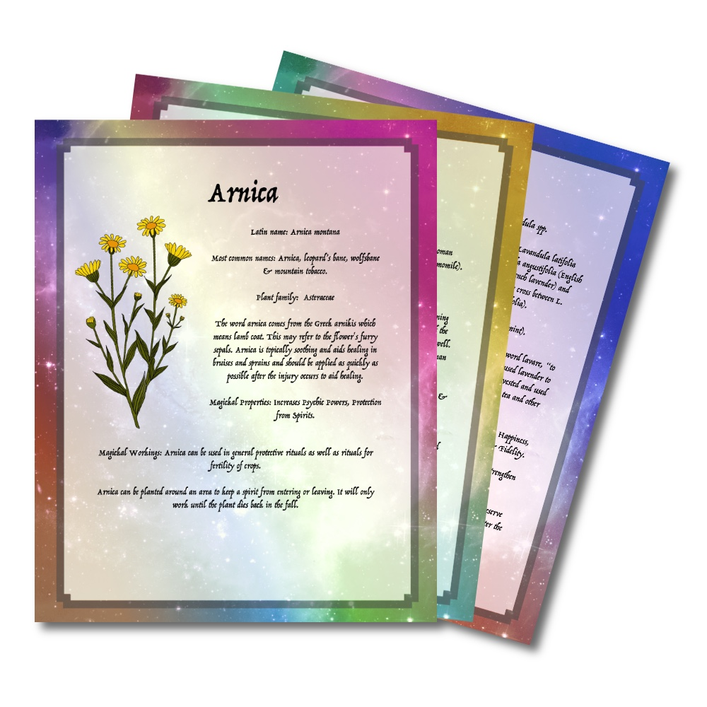 printable bos pages -