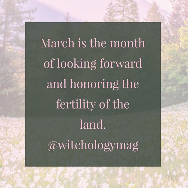 It's a magickal month for looking forward 🖤🖤