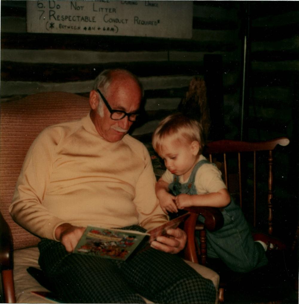 Chuck's father Walter and son Dan Auerbach