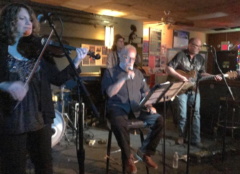 Photo: Chuck Yarborough at the Beachland Tavern
