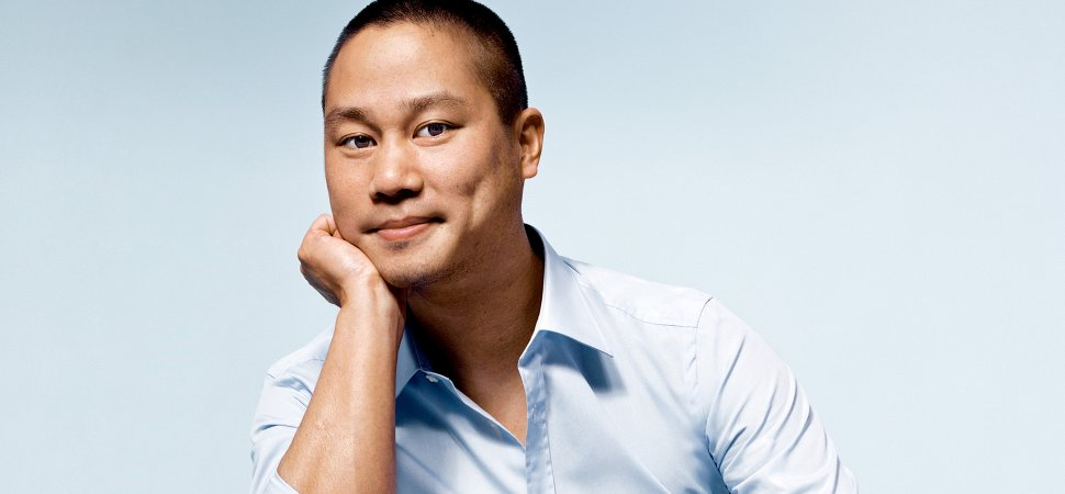 "Tony Hsieh - ""Stop chasing the money and start chasing the passion."""