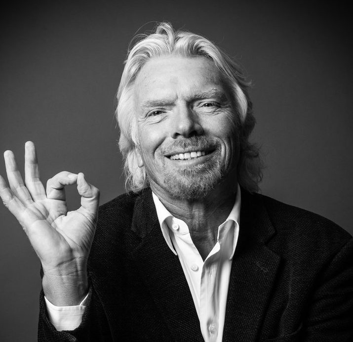 "Sir Richard Branson - ""When I was 15, I left school to start a magazine, and it became a success because I wouldn't take no for an answer. I remember banging on James Baldwin's door to ask for an interview when he came to England. Then I got Jean-Paul Sartre's home phone number and asked him to contribute. If I'd been 30, he might have said no, but I was a 15-year-old with passion and he was charmed."""