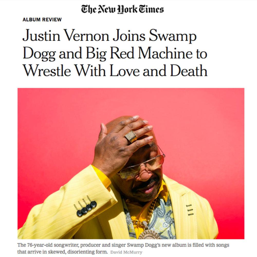 New York Times  September 5, 2018
