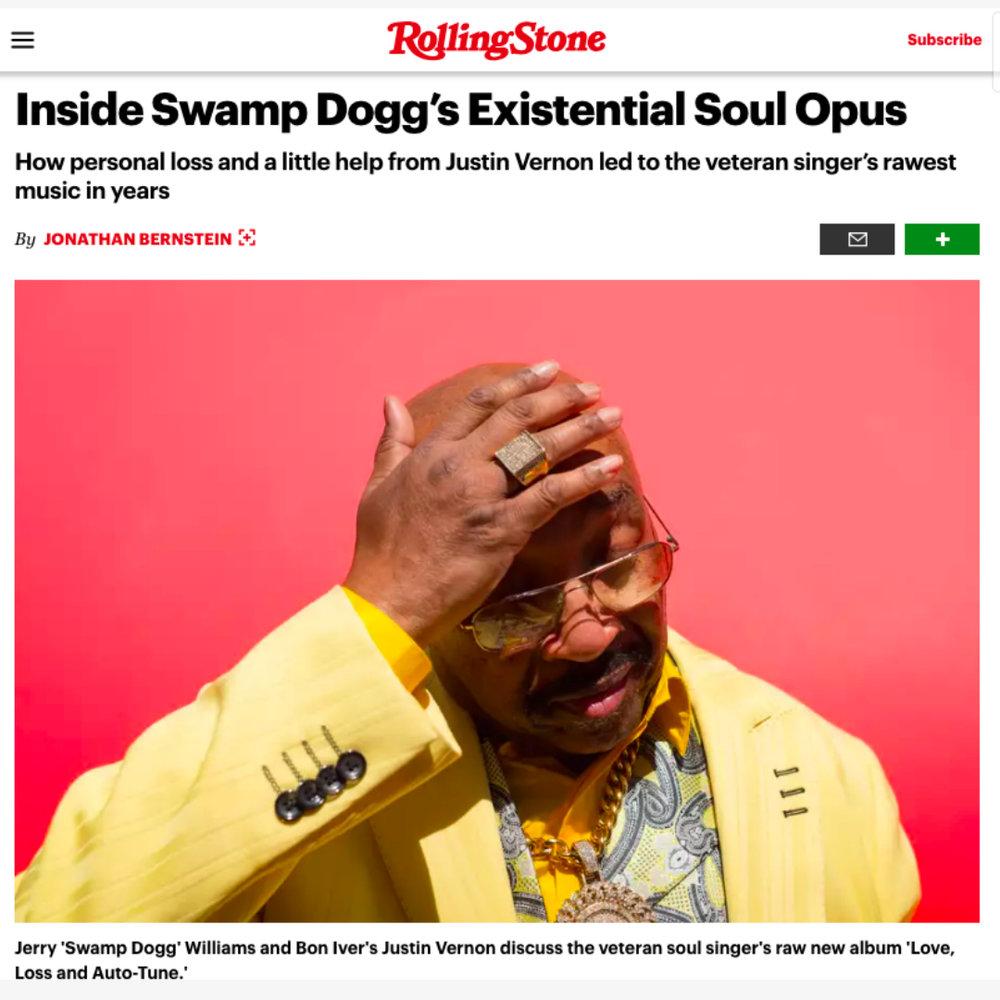 Rolling Stone  September 6, 2018