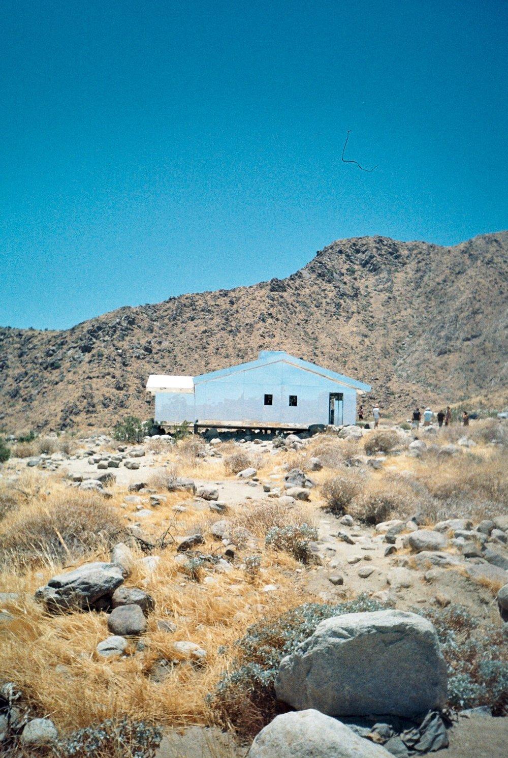Doug Aitken's 'Mirage' in the Desert Palisades.
