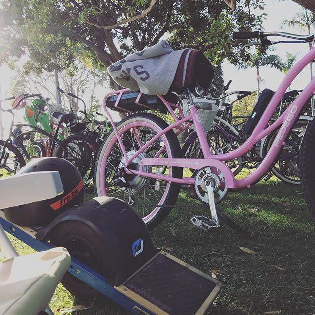 Electrify #onewheel #pedego #ionlyfellonce
