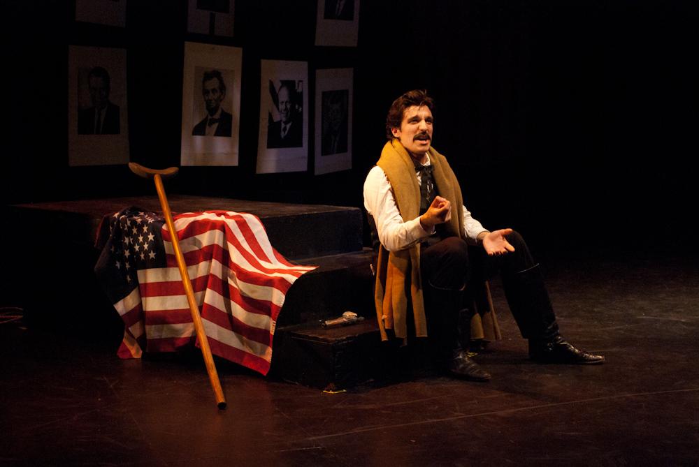 John Wilkes Booth in ASSASSINS