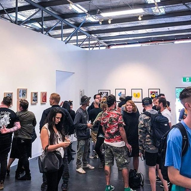 🔥💗 Ultimate heart-thanks out to all my homies that came down to the opening of our new gallery and studios @versus_gallery_melbourne !! The space has been well and truly blessed by all you beautiful souls! Your support means the world! Follow us for all the info on events! Next exhibition opens March 1st with Canadian artist @denialart 💗🔥 #versusgallery