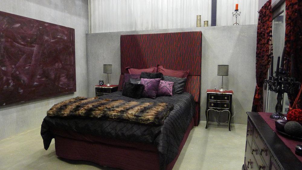 Ty's Bedroom - Dressed set