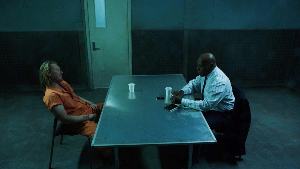 Howard, Interview room